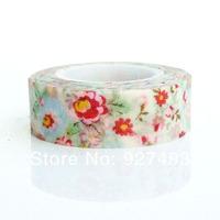 Paper tape flower series handmade gift diy washi tape