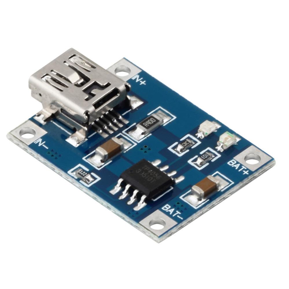 1pcs 5v usb micro 1a 1000ma bateria de lítio carregar módulo de carregado