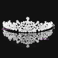 Wedding Flower girls Tiara Jewelry Rhinestone Headpieces ,Bridal Hair Accessories005
