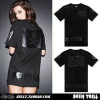 New arrival! Can't miss! Hood By Air HBA Been Trill Kanye West 2014 new brand skull design t-shirt short-sleeve tee tops