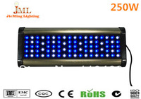 LED aquarium light 250W, blue and white plant grow lamp