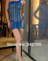 2014 Sexy lingerie Free Shipping sexy sleepwear robe with G string exotic apparel costumes lingerie sexy dress sleepwear