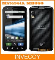 MB860 Original Unlocked Motorola ATRIX 4G MB860 Cell Phone Android GPS Wifi Dual-core 16GB 5.0MP Bluetooth one year warranty