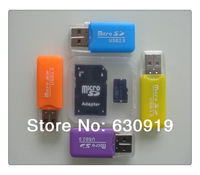 Free shipping NEW MicroSD 4GB 8GB 16GB 32GB 64GB Memory TF Card with free SD Adapter+free card reader
