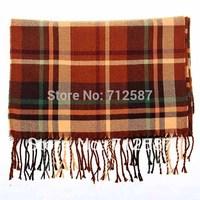 HOT Plaid Classics Checker Long Scarf Soft Wrap Shawl Stole Women Men Large Size free shipping 5470
