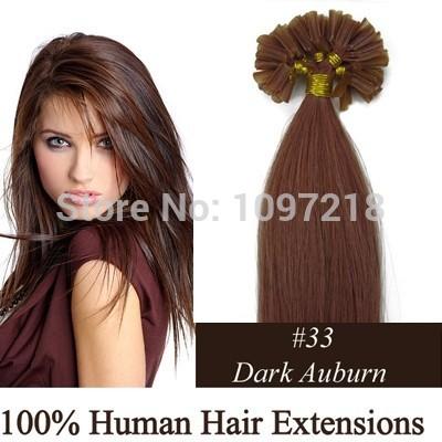 один кусок темно каштановые моды бразильский девственница 100% человеческих волос u кончик волос
