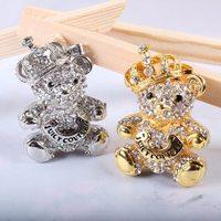 jewelry usb drive gift diamond necklace pen drive 8gb 16gb 32gb pen drive flash bear animal usb pendrive memory stick