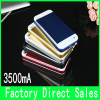 For Apple iPhone 5 5C 5S External Battery Case 3500mah  high quality