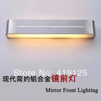 Free shipping  Brief modern bathroom lamp anti-fog mirror light aluminum wall lamp mirror glass acrylic  (24W)