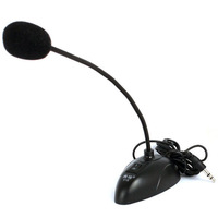 New arrival New 3.5mm Desktop Laptop PC Noise-canceling Microphone for Skype Meeting MSN Free Shopping & Wholesales