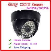Best Price Security Sony Effio-e CCD 700tvl 960H  IR 15 meters Indoor surveillance CCTV Camera