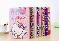 New 2014 Hello Kitty Lovely Cute PU Leather Case For Apple iPad Air / iPad 5 Tablet Case Cover High Quality