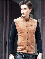 2014 Spring New Korean men's fashion coat jacket mens jackets Free Shipping 122073