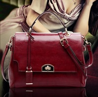 Genuine leather women's handbag messenger bag women's bags handbag cross-body messenger bag women's handbag