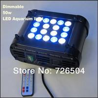 Free shipping Phantom 50W dimming LED aquarium light,