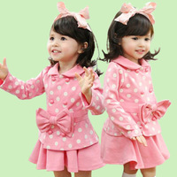 boys girls baby spring autumn summer T-shirts skirts sets child skirt childrens clothing clothes CMF-533