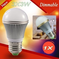 1X Hot Sale LED AC85-265V  9W 15W  E27 E14 B22 GU10  Ball steep light LED Light Bulbs Lamp Lighting tube Free Shipping !!!
