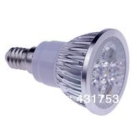 10pcs/lot High Power CREE E14 LED Spotlight 4x3W 12W 85-265V LED Light Lamp Bulb LED Downlight Led Bulb Warm/Cool White CE/RoHS