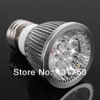 Wholesale 50pcs/lot E27 12W (4X3W) High power LED spotlight Bulb Lamp Warm white/cold white AC85-265V Free Shipping