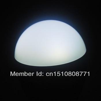 Fedex free shipping 3w LED Bubble Ball Bulb AC85-265V ,E14 E27 B22 GU10,aluminium silver/gold shell color,warm/cool white,3*1W(China (Mainland))