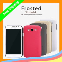 30pcs/lot For Samsung Galaxy Grand Neo I9060 Original Nillkin Super Frosted Shield Case +Screen film +retail + DHL Free Shipping