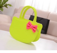 2014 Korean version women messenger bags new candy-colored women leather handbags hello kitty models women handbag