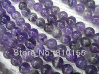 2strands/lot 12mm Amethyst Round Beads Jewelry Loose Beads 15.5'' Full Strand