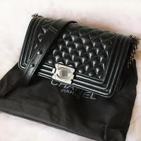 Bag le boy small air bag dimond plaid sheepskin one shoulder cross-body women's handbag