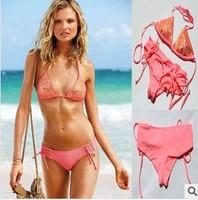 free shipping 2014 hot sale Victoria swimsuit for women vs swimwear bathing suit vs sexy halter bikini beach swimming wear