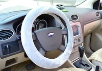Car steering wheel cover winter plush ranunculaceae jetta bora lavida hatchards lu fox triumphant more