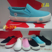 single shoes foot wrapping cotton-made shoes female foot pedal child canvas shoes boys shoes