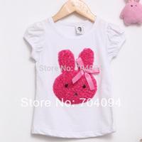 Retail high quality original brand 2-6 years baby girls B2W2 t-shirts