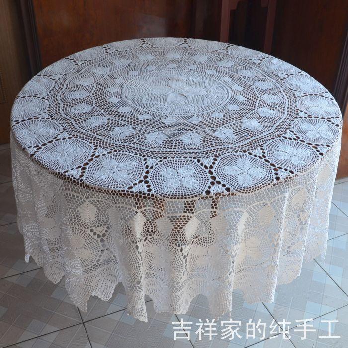 Purpose dining table cloth tablecloth circle white china mainland