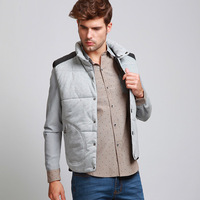 2013 male vest autumn and winter cotton vest coat plus size vest men's clothing casual