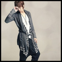 Anjell series cardigan patchwork stripe 2