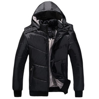 2014 top men's down jacket Warming design short cotton-padded jacket winter wadded jackets for men outerwear man jacket