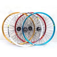 Antai beads hub double layer multicolour aluminum alloy rim 26 mountain wheels