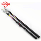 New 2014 Tri-Poseidon Exceed 4.5m Surf Casting Rod Rock Carbon Spinning Fishing Pole Ultra Light Fishing Stick Fishing Rod(China (Mainland))