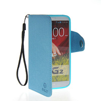 2014 latest Chinese production of high quality leather wallet FOR LG G2