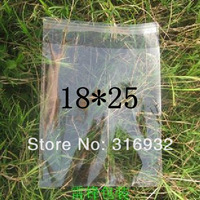 E4 Clear Resealable Cellophane/BOPP/Poly Bags 18*25cm  Transparent Opp Bag Packing Plastic Bags Self Adhesive Seal