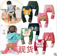 New Children's PP pants cotton full file nine children cotton pants PP pants ass pants pp johns
