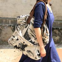Exception 2014 JNBY ink one shoulder bag casual all-match women's handbag