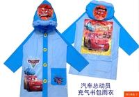 Free shipping  Raincoat/Children's Raincoat/Kids Rain Coat/Children's rainwear cars2 cartton  thomas good quality