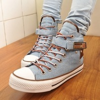 Free shippig 2014 new high Style star Canvas Shoes tk Sneakers Women's arena Canvas Shoes