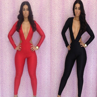 2014 new Fashion women clubwear pant evening pants lady party dress backless hot sale sexy jumpsuit bodycon jumpsuits 1pcs
