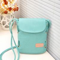 2013 women's handbag vintage solid color bucket bag candy bag one shoulder cross-body bag small