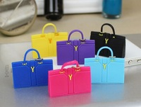 Free ship! New design ysl handbags purse dust plug,Cute Mini dustproof plug mini satchel shoulder bag dust plug for iphone 5s