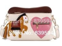 The new shoulder bag Messenger bag ladies bag and handbag retro diagonal packet