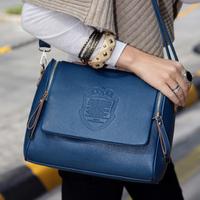 Howru2013 female candy color handbag messenger bag women's