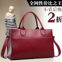 2013 autumn and winter fashion square grid women's handbag bag one shoulder handbag messenger bag shoulder bag messenger bag
